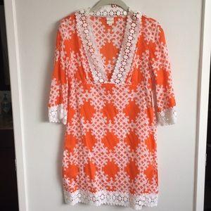 Milly Swim - Milly nectar orange swimwear dress. Sz S